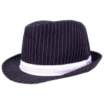 1920s Gangster Hats - 6 PC
