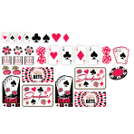Casino Assorted Cutouts - 12PKG/30