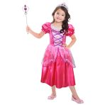 Bright Pink Princess with Accessories - Age 3-6 years - 1 PC