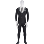 Teens Slender Man Party Suit Costume - Size M - 1 PC