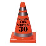 30th Birthday Cones 11cm x 16cm - 12 PC