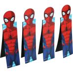 Spider-Man 3D Magnetic Bookmarks - 6 PKG/4
