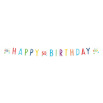 Confetti Birthday 50th Birthday Letter Banners 1.8m - 10 PC