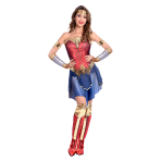 Wonder Woman Movie Costume - Size 12-14 - 1 PC