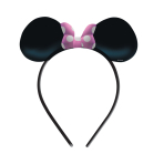 Minnie Mouse Ears with Bow    - 6 PKG/4