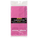 Bright Pink Paper Tablecovers 1.37m x 2.74m - 6 PC