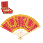Chinese New Year Fan Favours - 12 PC