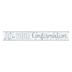 On Your Confirmation Holographic Banner 2.7m - 12 PC
