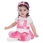 Sleeping Beauty Pinafore - Age 3-12 Months - 1 PC