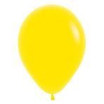 "Fashion Colour Solid Yellow 020 Latex Balloons 12""/30cm - 50 PC"