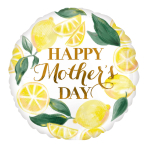 Happy Mother's Day Lemons Standard HX Foil Balloons S40 - 5 PC