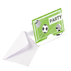 Kicker Party Invitations - 10 PKG/8