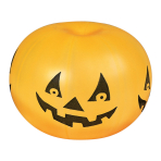 3 Halloween Pumpkin Punch balls - 6 PC