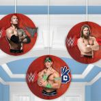 WWE Honeycomb Decorations 17cm - 6 PKG/3