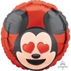 Mickey Mouse Emoji Standard HX Foil Balloons S40 - 5 PC
