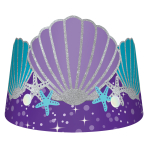 Mermaid Wishes Tiaras - 6 PKG/8