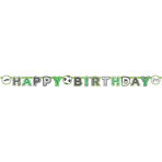 Kicker Party Paper Letter Banners 2m x 15cm - 10 PC