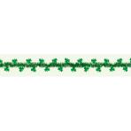 Green Tinsel Garlands with Shamrocks 4.5m - 6 PKG