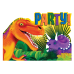 Prehistoric Party Postcard Invitations    - 6 PKG/8