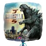 Godzilla Standard Square Foil Balloons - S60 5 PC