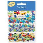 All Aboard Birthday 3 Pack Confetti Value - 12 PKG/3