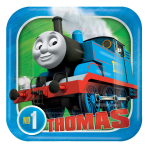 Thomas & Friends Paper Plates 18cm - 6 PKG/8