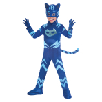PJ Masks Catboy Deluxe Costume - Age 5-6 Years - 1 PC
