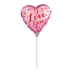 I Love You Mini Satin Luxe Foil Balloons A15 - 5 PC