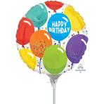 Birthday Celebration Mini Balloon A15 - 5 PC