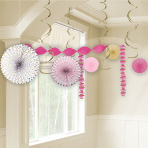 Pink First Holy Communion Room Decoration Kits - 6 PKG/14