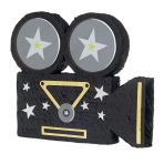 Movie Camera Pinatas - 4 PC