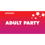 Adult Party Point of Sale 2ft/61cm x 1ft/30cm - 1 PC