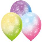 """LED Fireworks Latex Balloons 11""""/27cm - 12 PKG/4"""