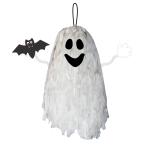 Fringe Ghost Decorations 40cm - 14 PC