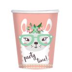 Llama Paper Cups 250ml - 6 PKG/8