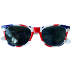 Red White & Blue GB Flag Glasses - One Size - 5 PC