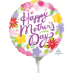Cheerful Mother's Day Air-Filled Foil Balloons A15 - 5 PC
