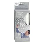 White Flutter Fetti Value Packs - 6 PKG/ 6