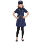 Police Dress - Size Child - 2 PC