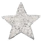 Silver Foil Star Pinatas - 4 PC