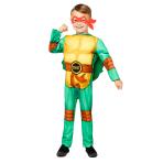 Teenage Mutant Ninja Turtles Costume - Age 4-6 Years - 1 PC