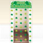 Happy St. Patrick's Day Door Curtains - 6 PKG