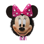 Minnie Mouse Pull Pinatas - 4 PC