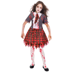 Zombie School Girl Costume - Age 11-12 Years - 1 PC