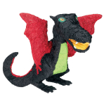 Black Dragon Pinatas - 4 PC