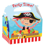 Little Pirate Party Boxes 15cm x 10cm x 17cm - 75 PKG
