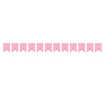 First Communion Personalised Pink Banner 2.4m x 22cm - 6 PKG/24