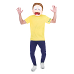 Morty Costume - Age 14-16 Years - 1 PC