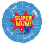 Super Mum! Standard XL Foil Balloons S40 - 5 PC
