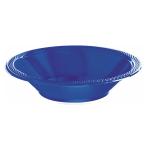 Bright Royal Blue Plastic Bowls 355ml - 10 PKG/20